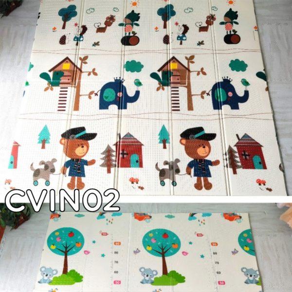 Sàn Xốp Gấp Gọn 1.8m x 1.98m MS CVIN02